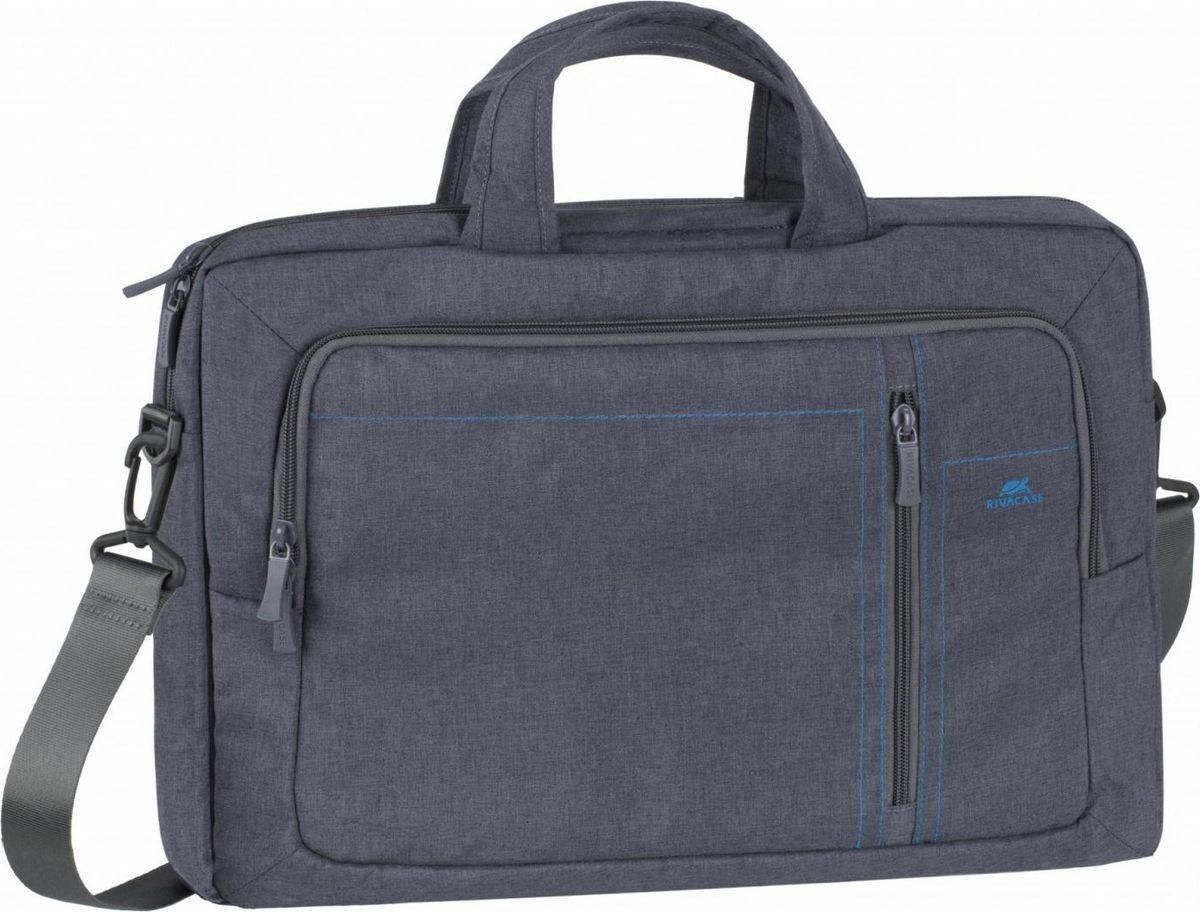 "RivaCase 7530, Grey сумка для ноутбука 15,6"""