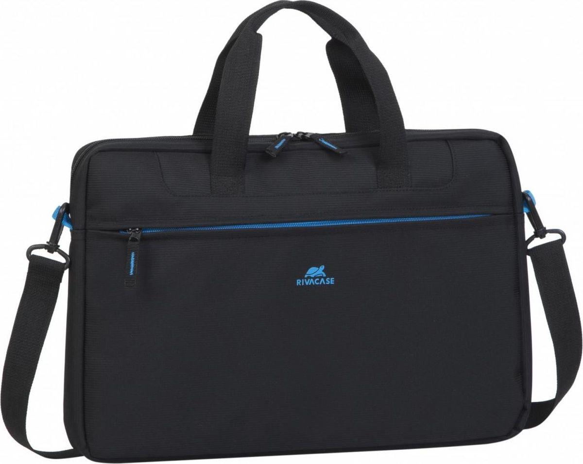 """RivaCase 8037, Black сумка для ноутбука 15,6"""""""