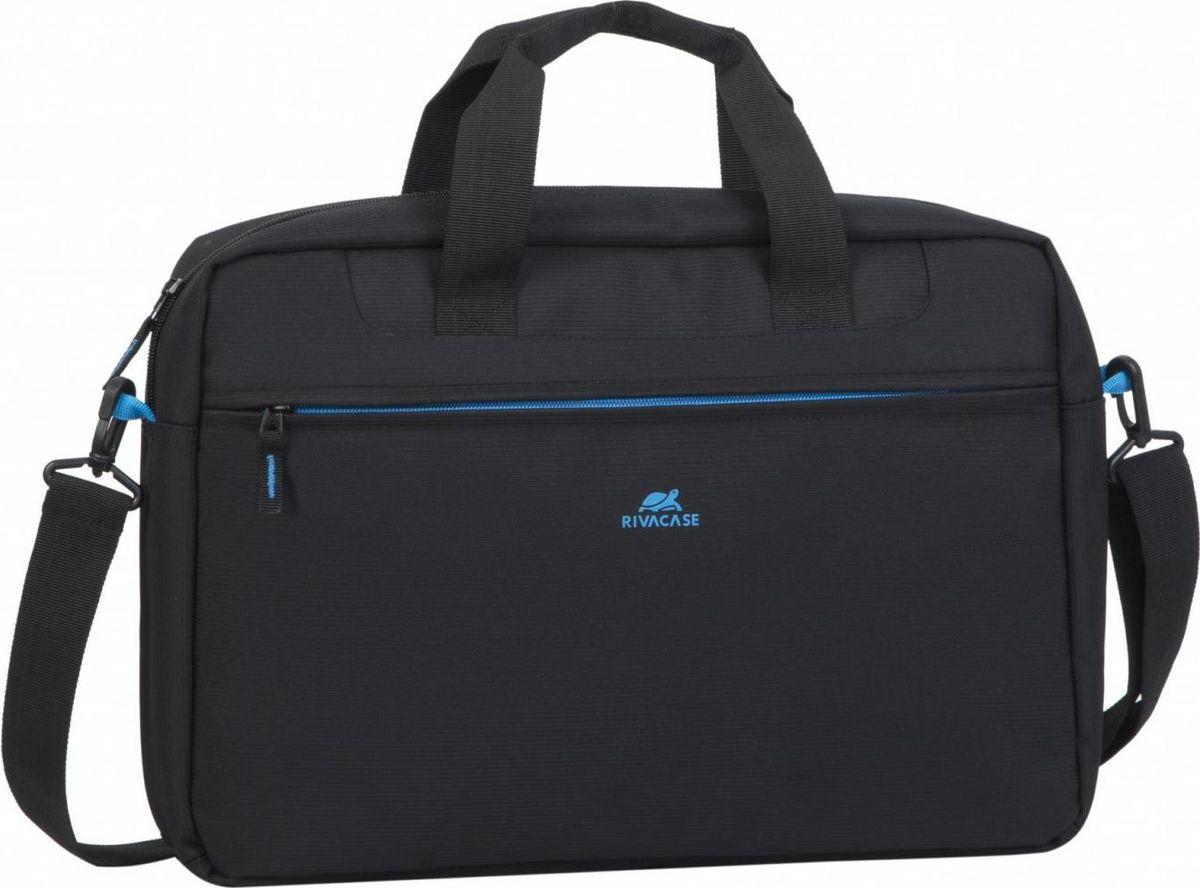 """RivaCase 8057, Black сумка для ноутбука 16"""""""