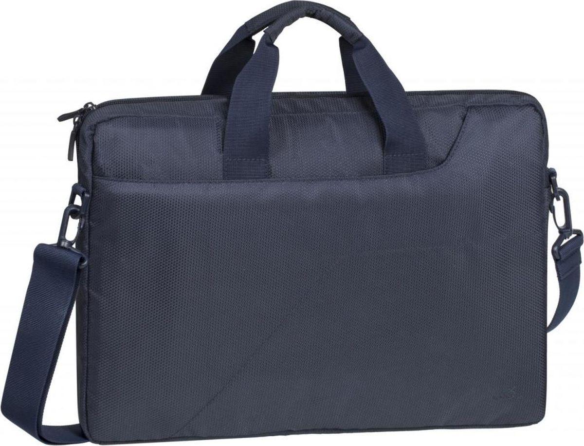 "RivaCase 8035, Dark Blue сумка для ноутбука 15,6"""