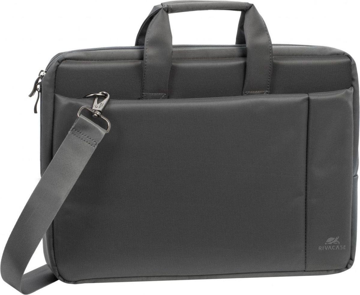 "RivaCase 8231, Grey сумка для ноутбука 15,6"""