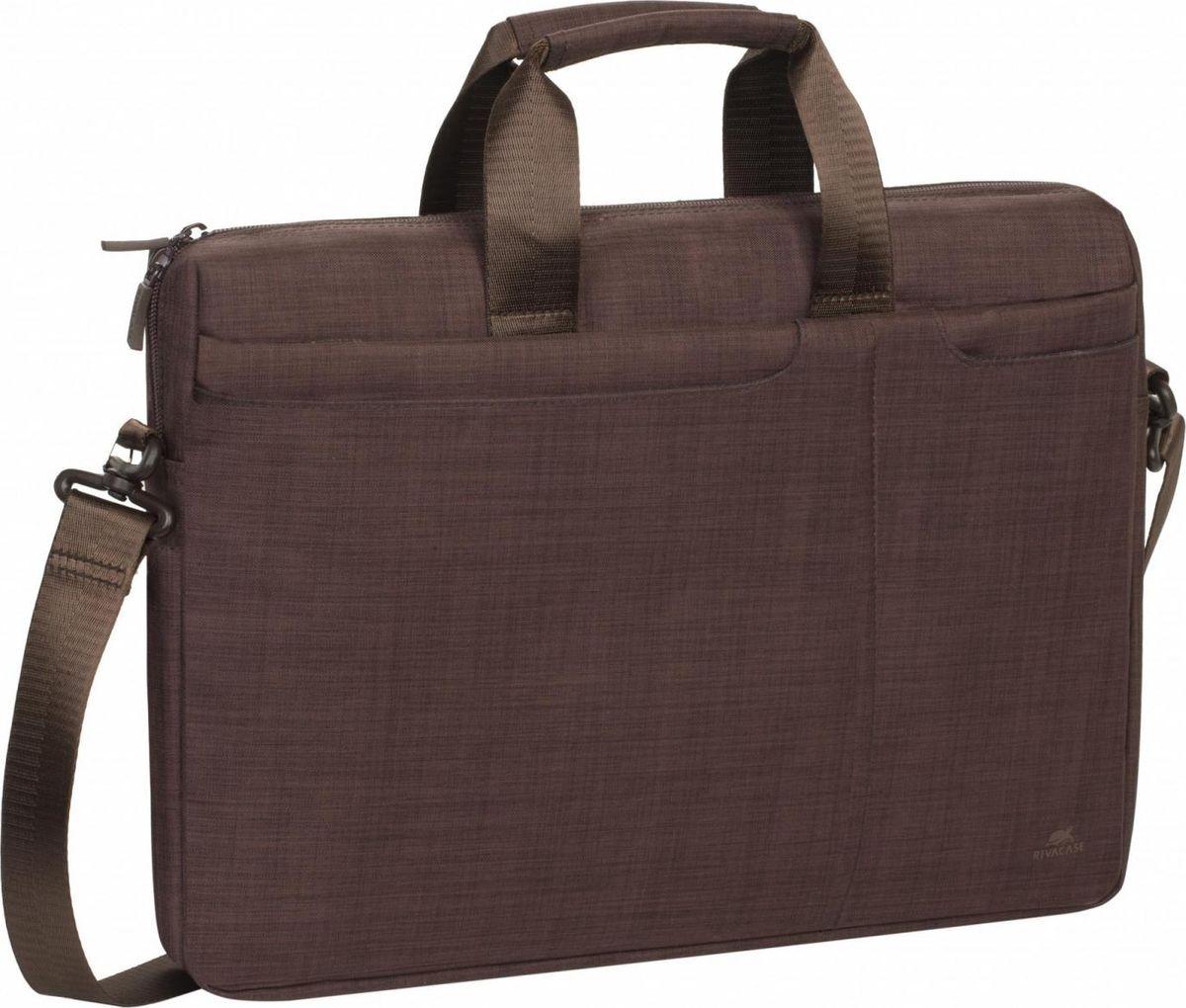 "RivaCase 8335, Brown сумка для ноутбука 15,6"""