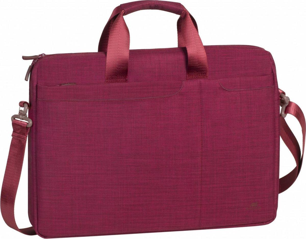 """RivaCase 8335, Red сумка для ноутбука 15,6"""""""
