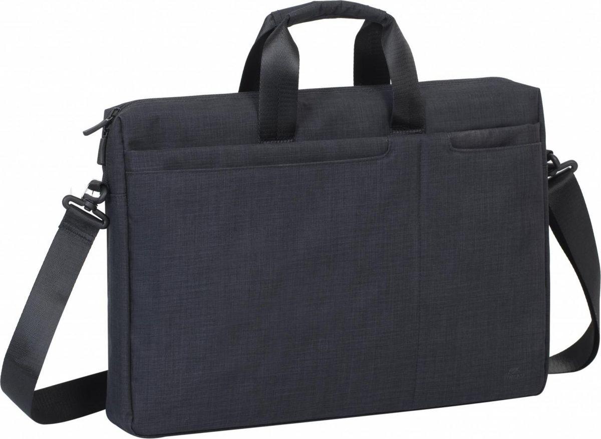 RivaCase 8355, Black сумка для ноутбука 17.3