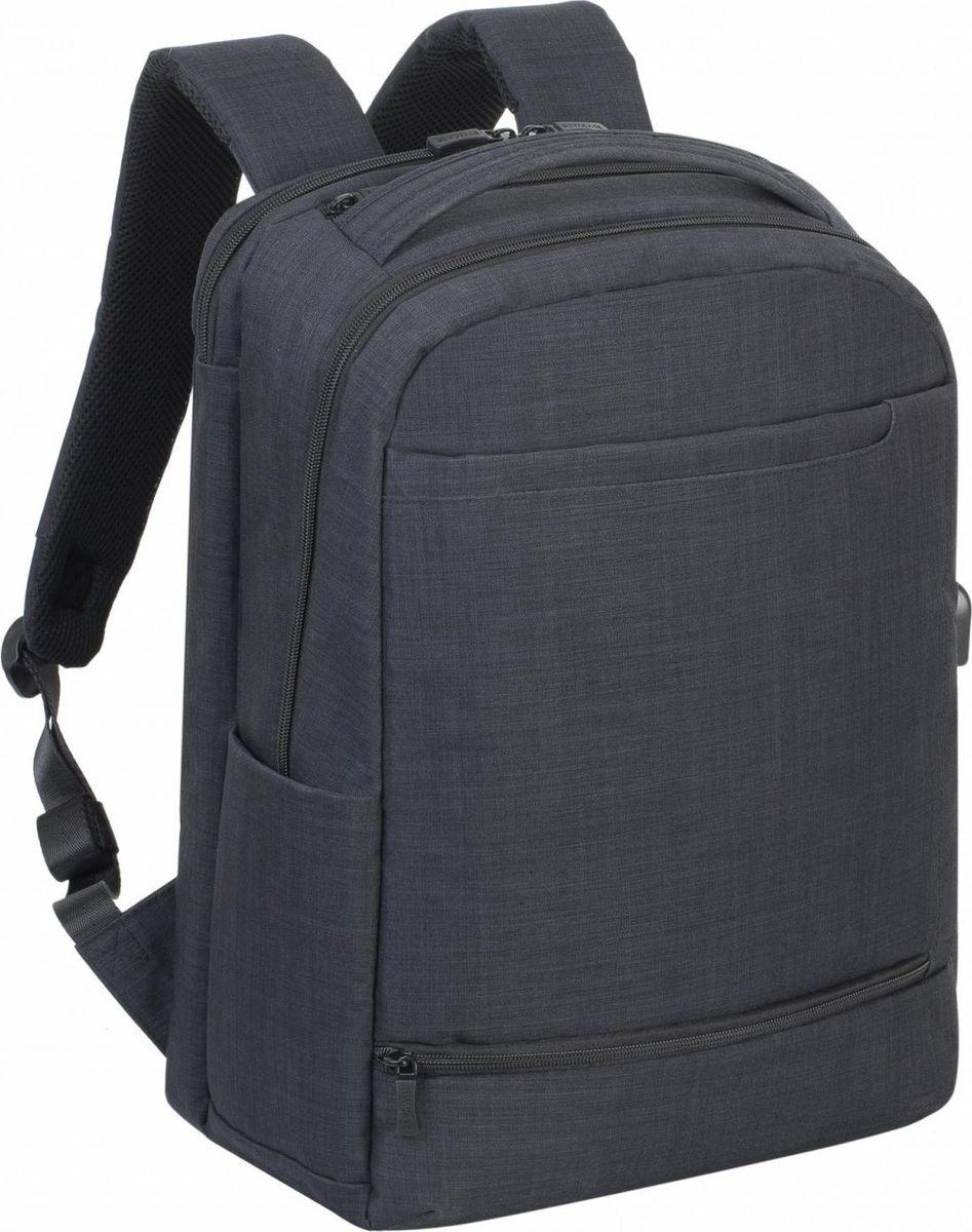 RivaCase 8365, Black рюкзак для ноутбука 17.3 наушники для ноутбука