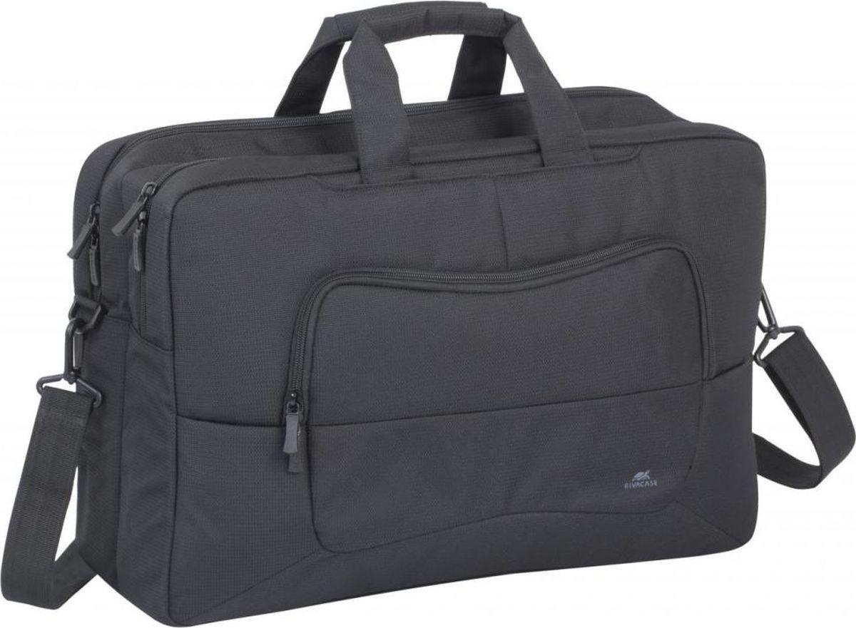 """RivaCase 8455, Black сумка для ноутбука 17.3"""""""