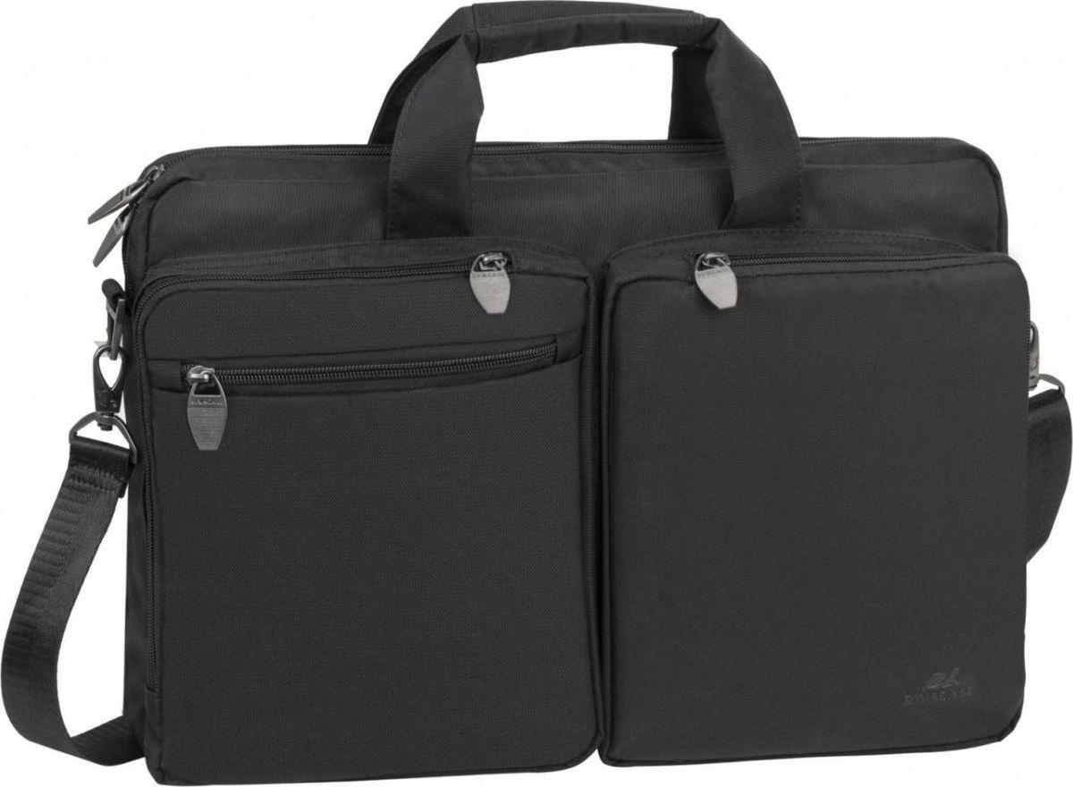 """RivaCase 8530, Black сумка для ноутбука 16"""""""