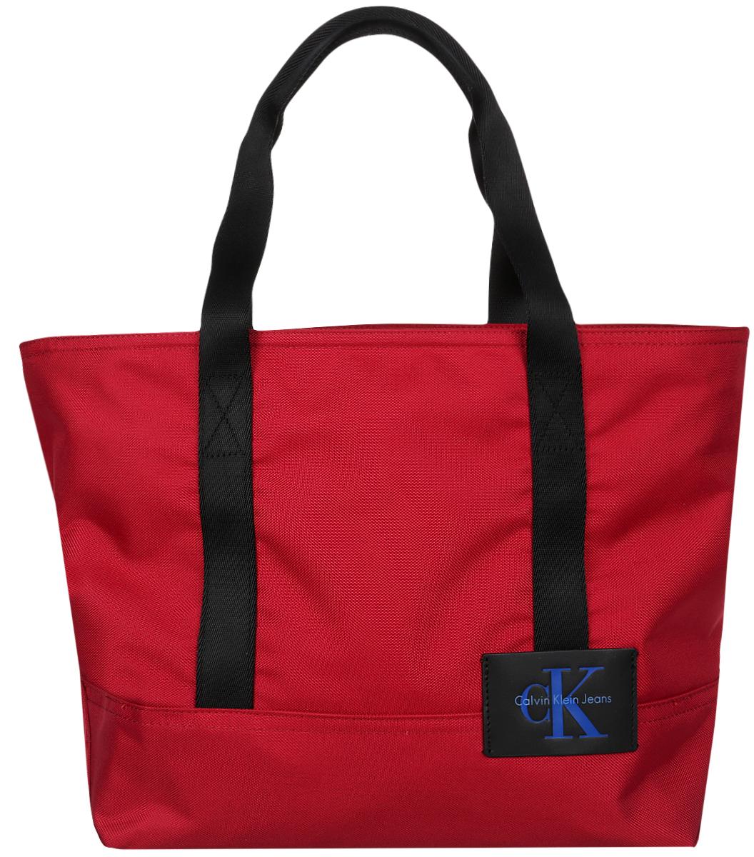 Сумка мужская Calvin Klein Jeans, цвет: красный, черный. K40K400042/624 куртка мужская calvin klein jeans цвет черный j30j305565 0990 размер m 44 46