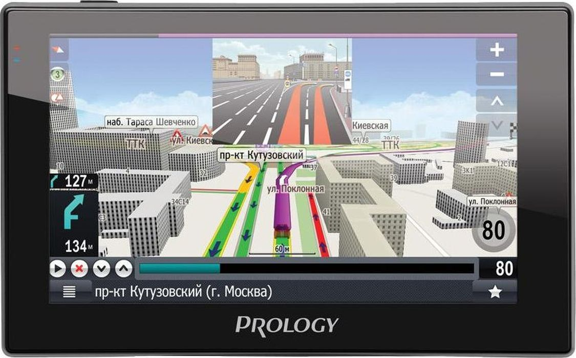 купить Prology iMAP-A530, Black автомобильный навигатор по цене 3166 рублей