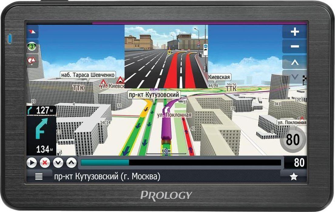 купить Prology iMAP-A540, Black автомобильный навигатор по цене 3450 рублей