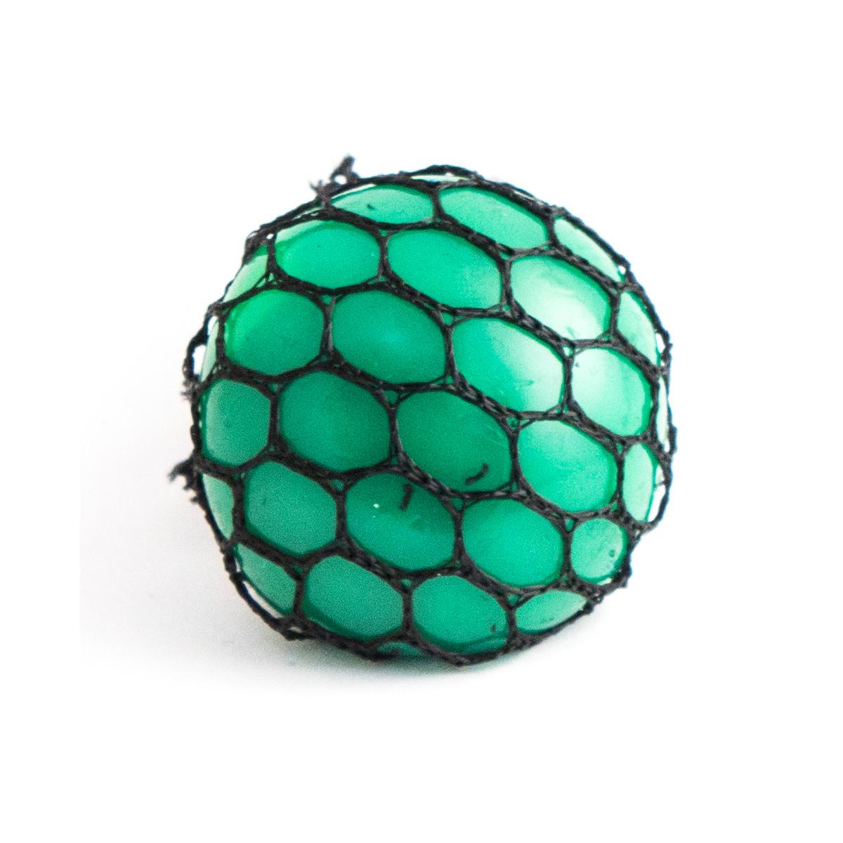 Игрушка-мялка Эврика Шарик, цвет: зеленый цена
