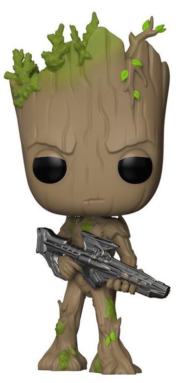 лучшая цена Funko POP! Bobble Фигурка Marvel Avengers Infinity War Groot 26904