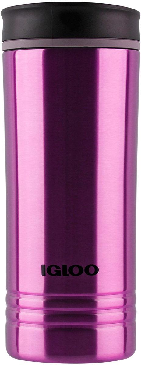 Кружка-термос Igloo Isabel, с вакуумной изоляцией, цвет: фиолетовый, 473 мл