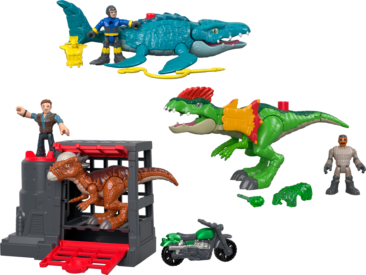 Фигурка Imaginext Jurassic World, FMX88, в ассортименте