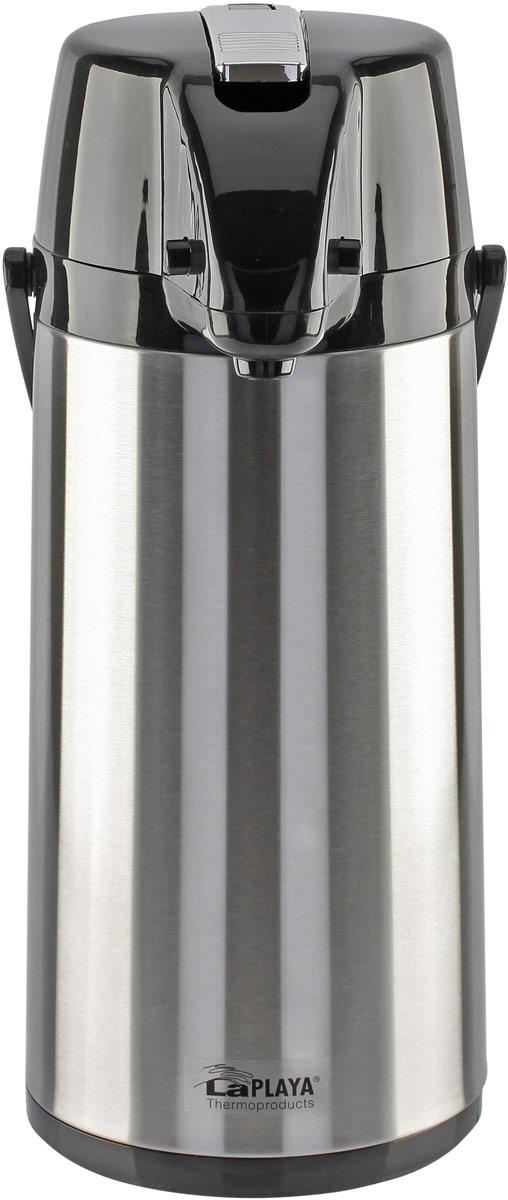 Фото - Термос LaPlaya Glass Filler Pump Pot, пневмонасос, со стеклянной колбой и поворотным основанием, 1,9 л [супермаркет] jingdong геб scybe фил приблизительно круглая чашка установлена в вертикальном положении стеклянной чашки 290мла 6 z