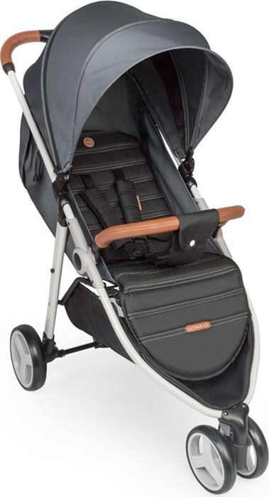Happy Baby Коляска прогулочная Ultima V2 цвет серый