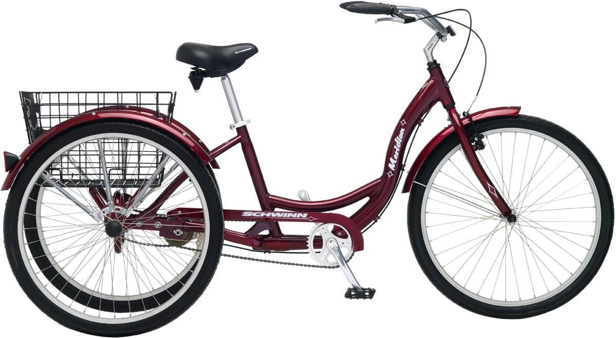 Велосипед городской Schwinn Meridian, колесо 26, рама 18, цвет: красный велосипед schwinn meridian 2018