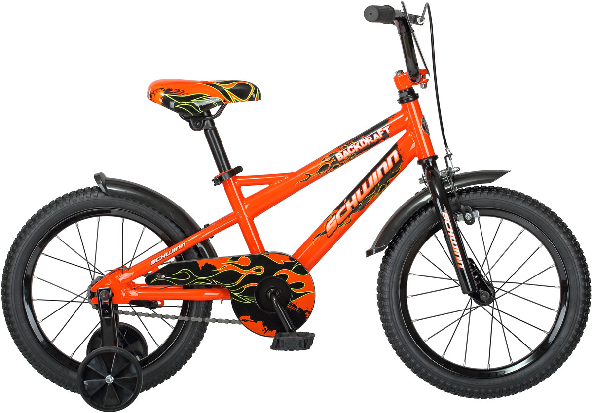 Велосипед детский Schwinn Backdraft, колесо 16, цвет: оранжевый велосипед schwinn meridian 2018