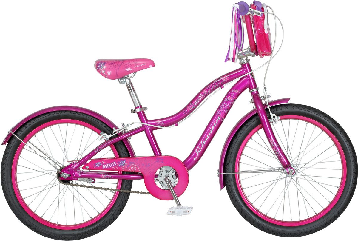 Велосипед детский Schwinn Deelite, колесо 20, цвет: фиолетовый велосипед schwinn twister 2017