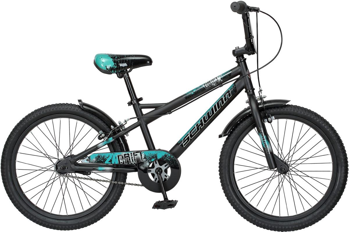 Велосипед детский Schwinn Drift, колесо 20, цвет: черный