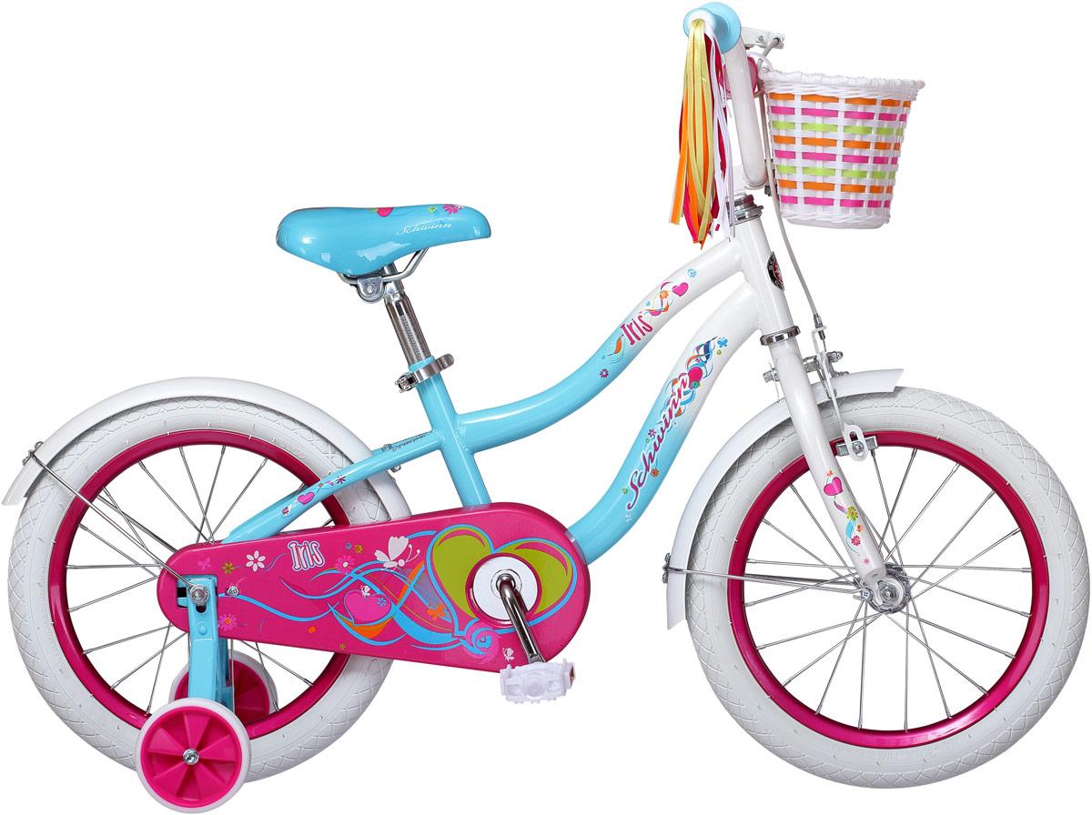 Велосипед детский Schwinn Iris, колесо 16, цвет: белый велосипед schwinn meridian 2018