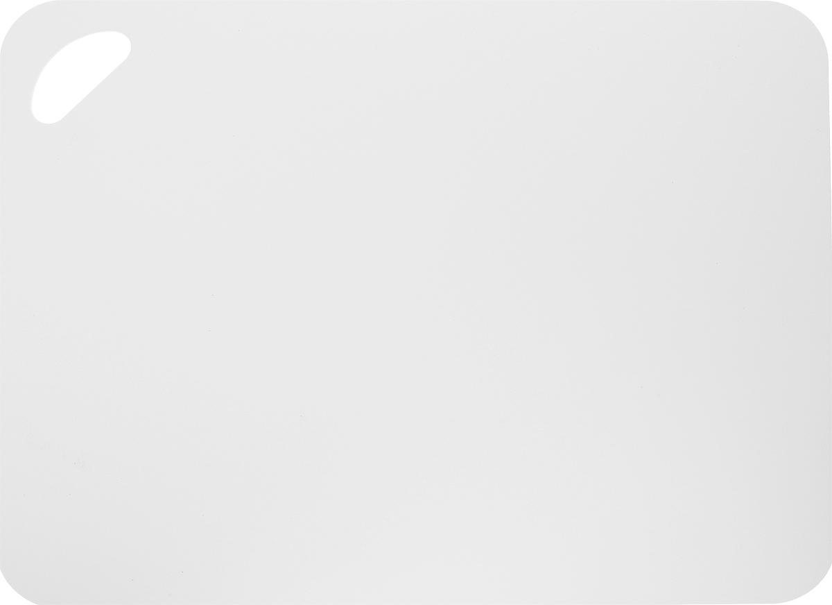 Фото - Коврик для резки Zeller, цвет: белый, 38 х 29 см держатель для кухонного полотенца zeller на присосках 14 х 14 х 33 см