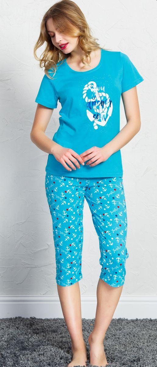 Домашний комплект Vienetta's Secret комплект одежды для мальчика vienetta s secret classic air rage капри футболка цвет светло бирюзовый 708108 0000 размер 110 122 5 6 лет
