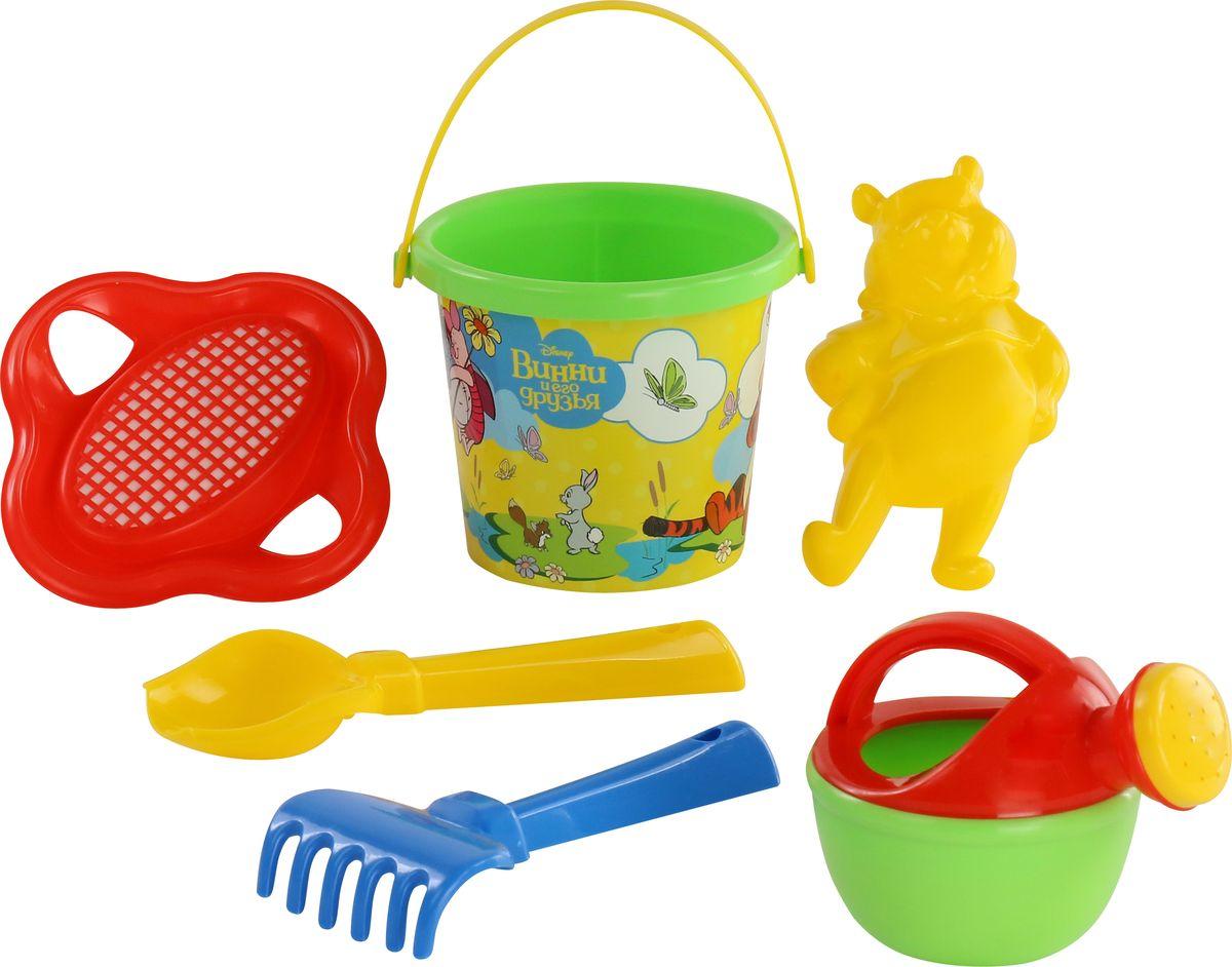 Фото - Disney Набор игрушек для песочницы Винни и его друзья №4, цвет в ассортименте полесье набор игрушек для песочницы 468 цвет в ассортименте