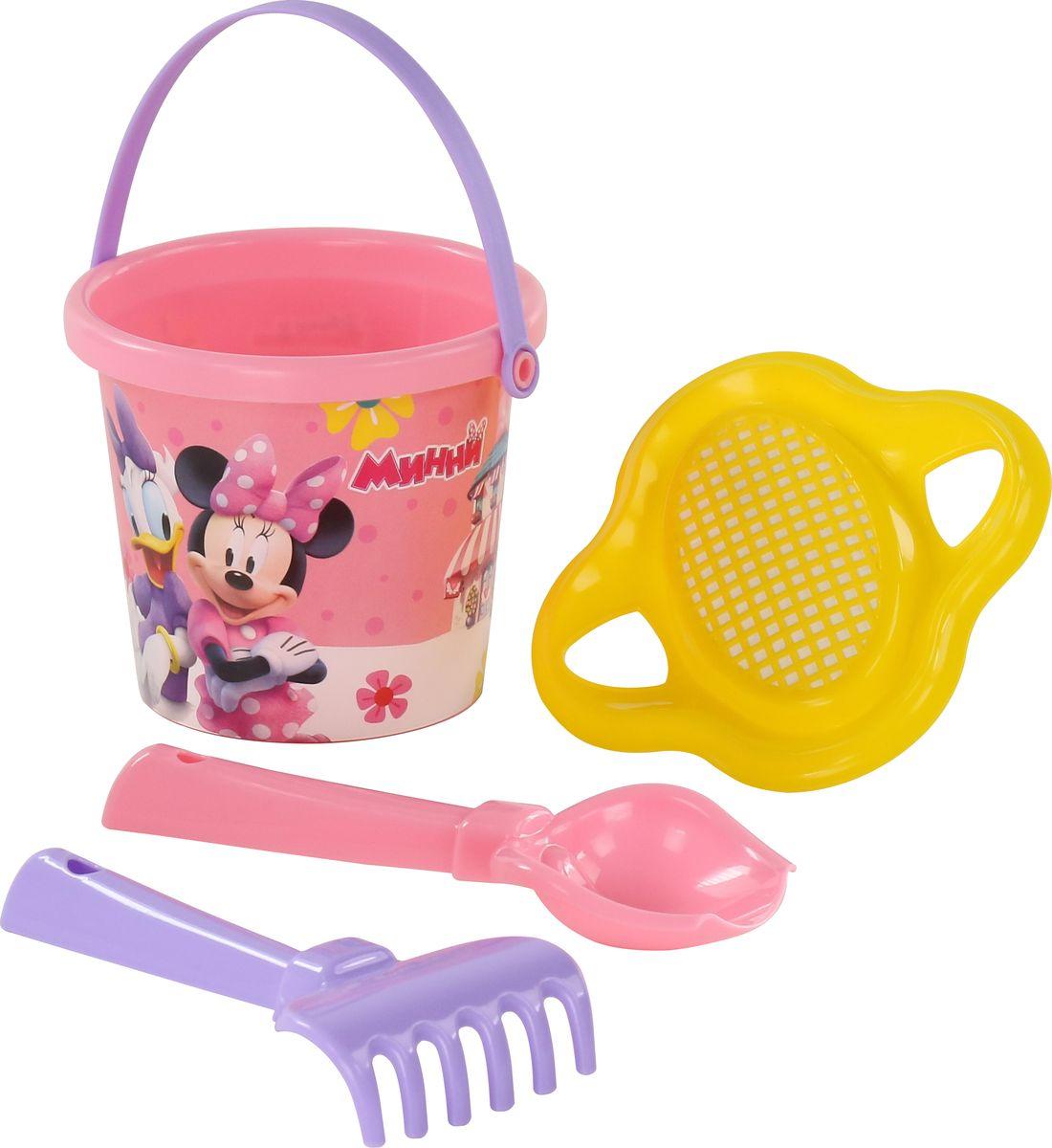 Disney Набор игрушек для песочницы Минни №2, 4 предмета, цвет в ассортименте disney набор игрушек для песочницы минни 4 цвет в ассортименте