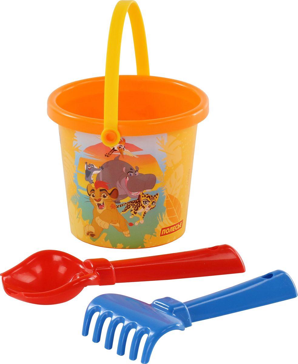 Disney Набор игрушек для песочницы Хранитель Лев №1, 3 предмета, цвет в ассортименте цена