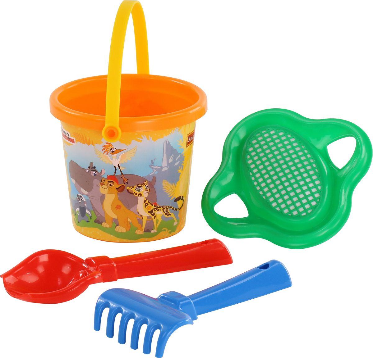 Disney Набор игрушек для песочницы Хранитель Лев №2, цвет в ассортименте disney набор игрушек для песочницы минни 4 цвет в ассортименте