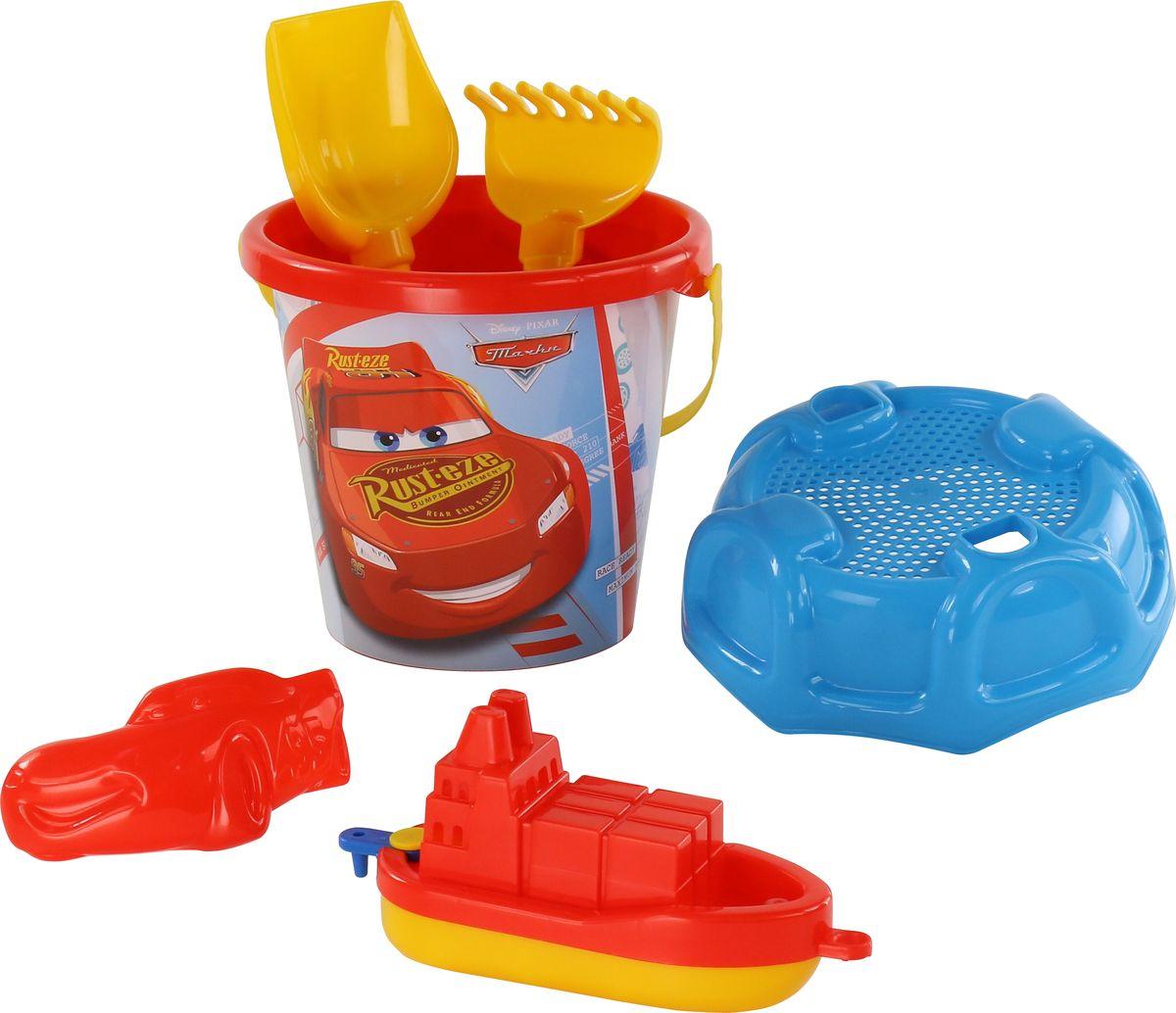 Disney / Pixar Набор игрушек для песочницы Тачки №26, 6 предметов, цвет в ассортименте цена 2017