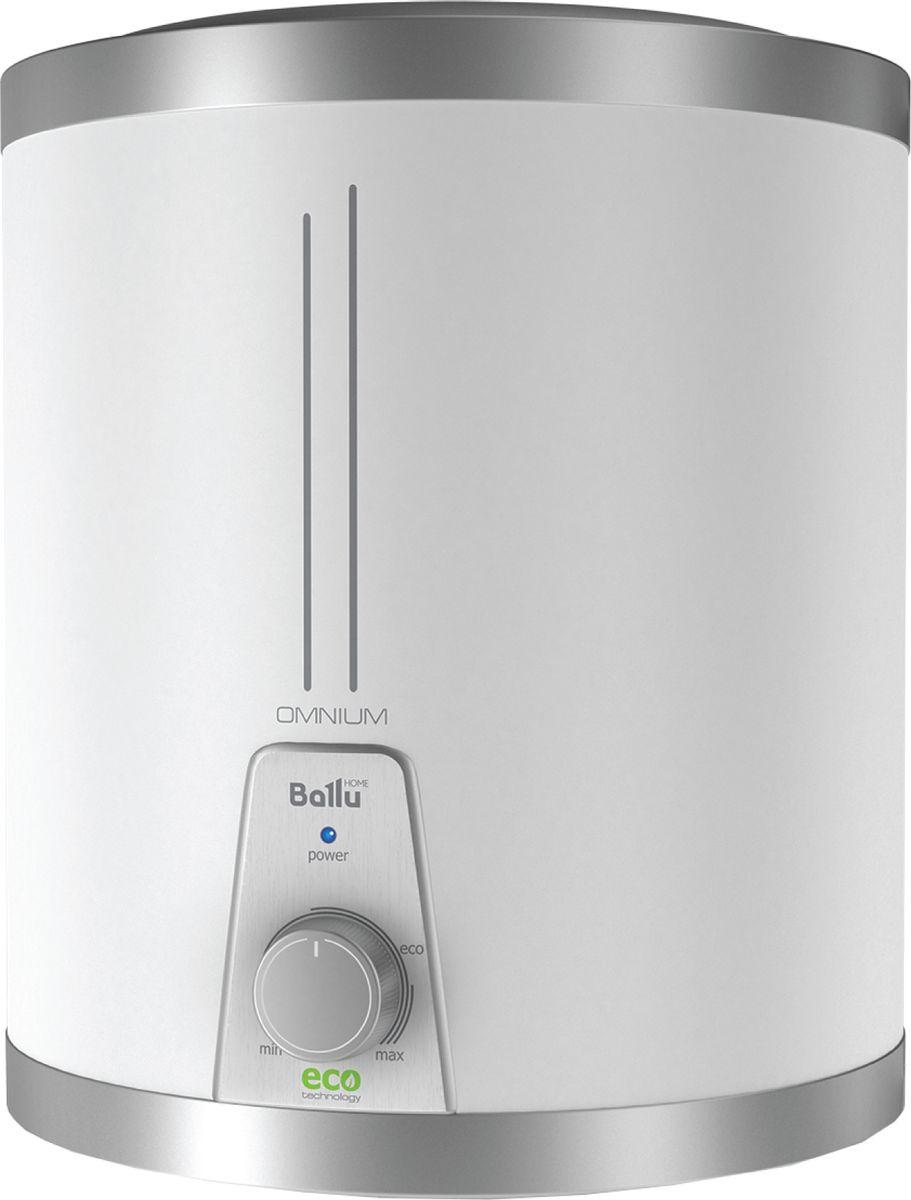 Водонагреватель накопительный электрический Ballu BWH/S15OmniumO, 15 л, белый
