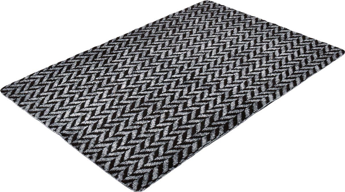 Коврик придверный Vortex Trophy, влаговпитывающий, цвет: черный, 90 x 60 см коврик придверный vortex samba футбол влаговпитывающий цвет зеленый 60 x 40 см