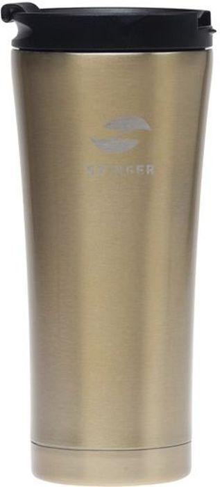 "Термокружка ""Stinger"", цвет: коричневый, 0,45 л. HY-VF143"