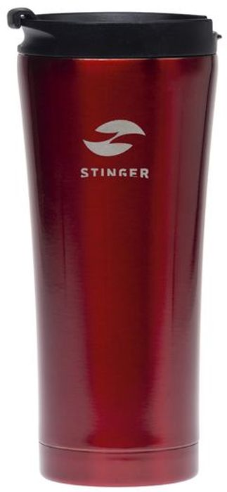 """Термокружка """"Stinger"""", цвет: красный, 0,45 л. HY-VF143"""
