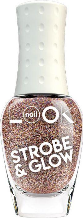 NailLOOK Лак для ногтей Trends Strobe & Glow, Brilliant nude, 8,5 мл недорого