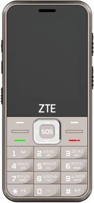 Мобильный телефон ZTE N1, золотой мобильный телефон zte n1 black