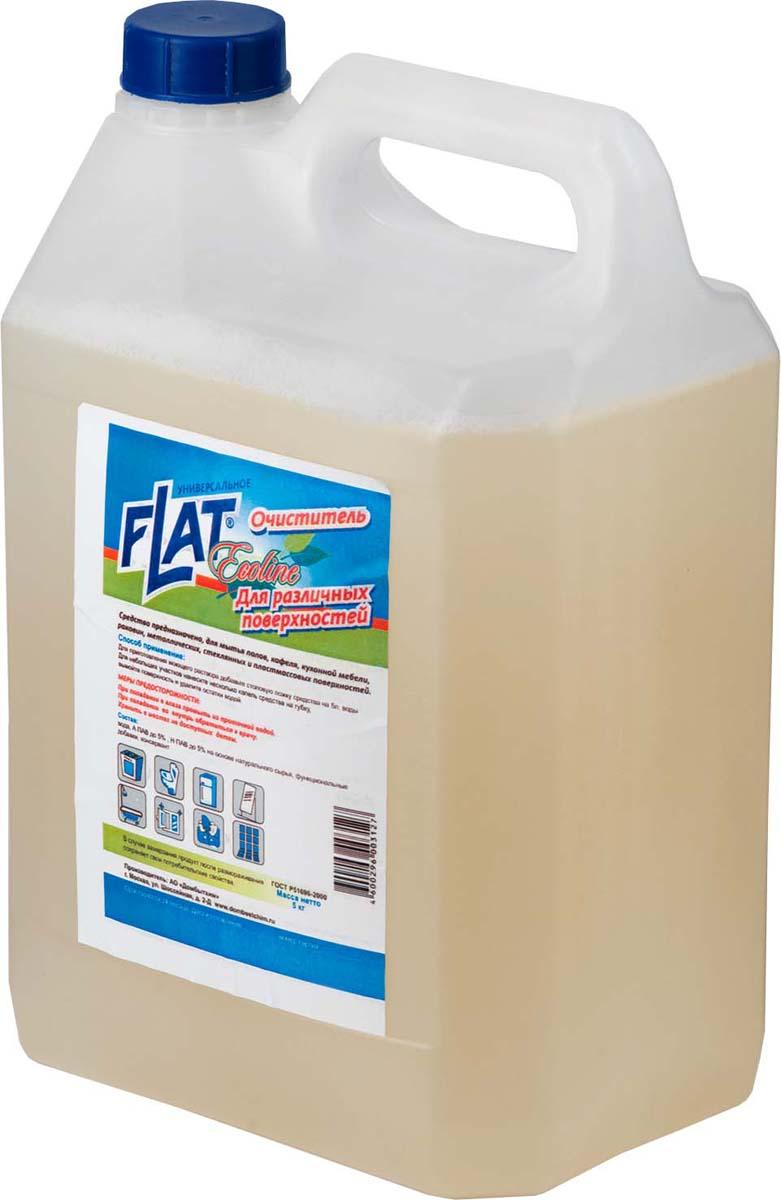 Чистящее средство Flat Ecoline, универсальное, 5 л