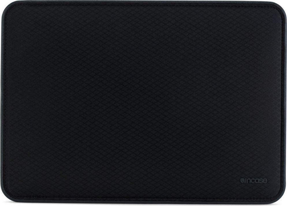 Incase Icon Sleeve with Diamond Ripstop чехол для Apple MacBook Pro 15, Black чехол накладка incase hardshell case dots для ноутбука macbook pro 13 with thunderbolt 3 usb c м