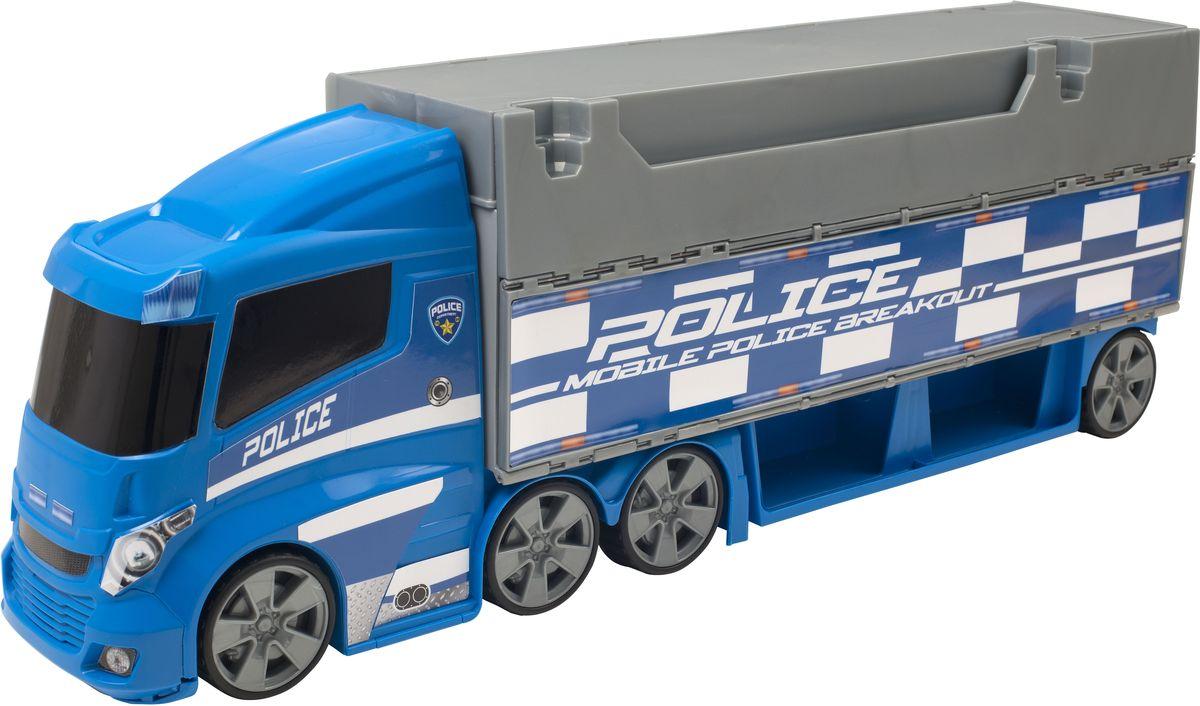 HTI Игрушечный трек Полицейский грузовик