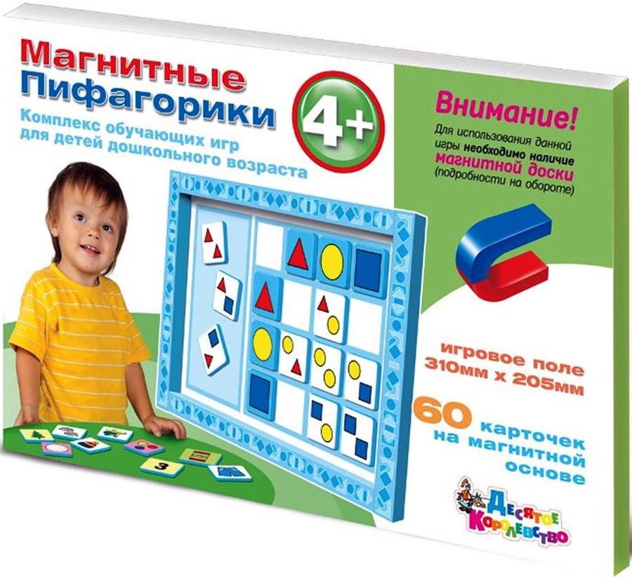 Десятое Королевство Обучающая игра Магнитные Пифагорики 4+ цены