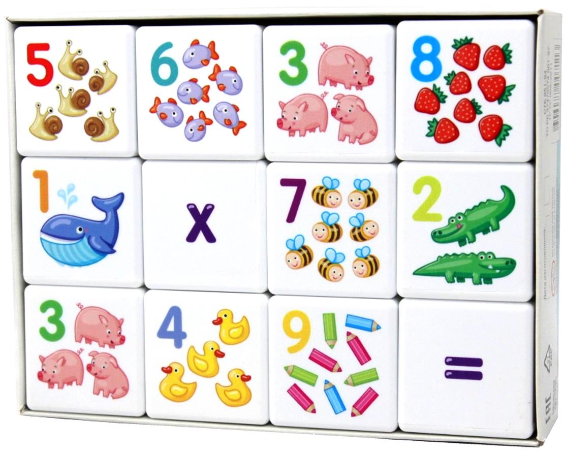 Десятое Королевство Кубики для умников Арифметика калейдоскоп десятое королевство волшебный 01644