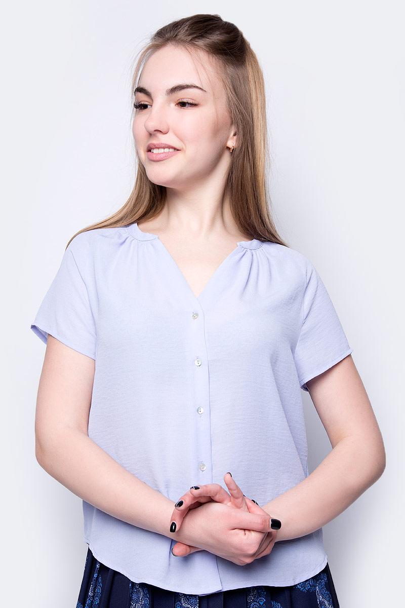 Блузка Sela блузка женская sela цвет белый b 112 1394 9181 размер 46