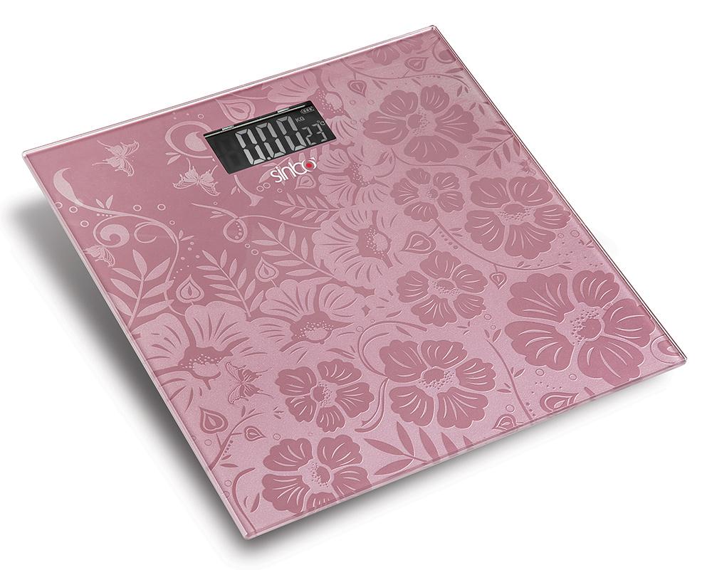 Напольные весы Sinbo SBS 4445, Pink цена