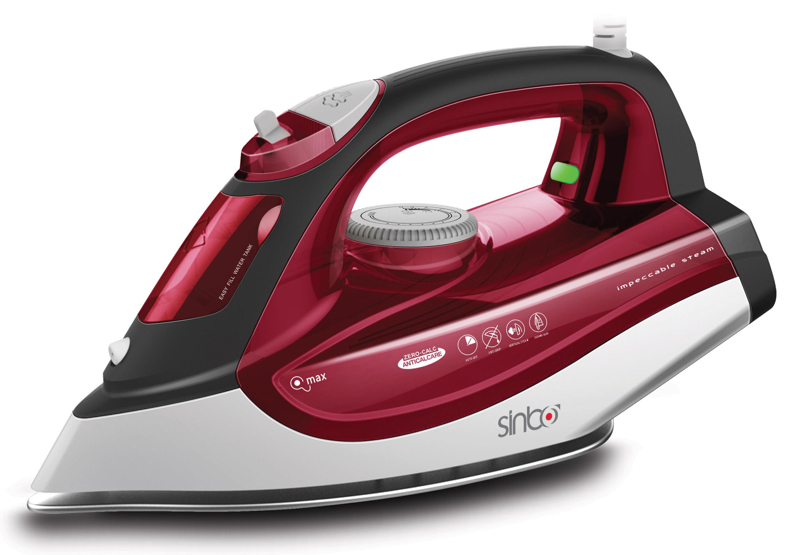 Утюг Sinbo SSI 6611, Red White sinbo ssi 2886 purple