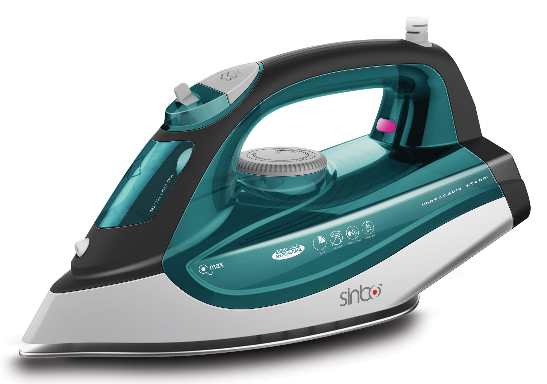 Утюг Sinbo SSI 6612, Green White sinbo svc3467 green