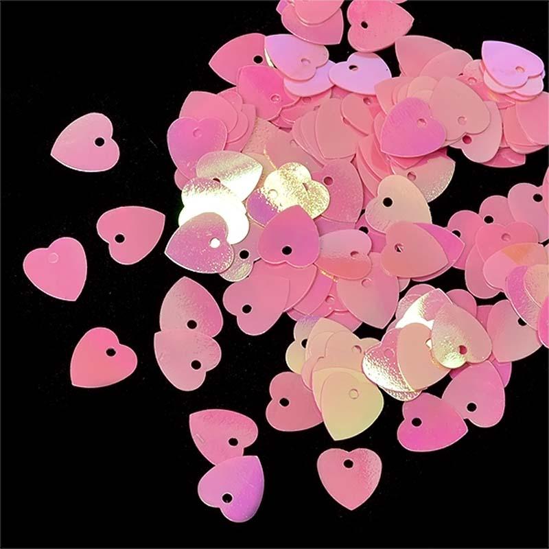 Пайетки Ideal, цвет: розовый (29), 10 мм, 50 г