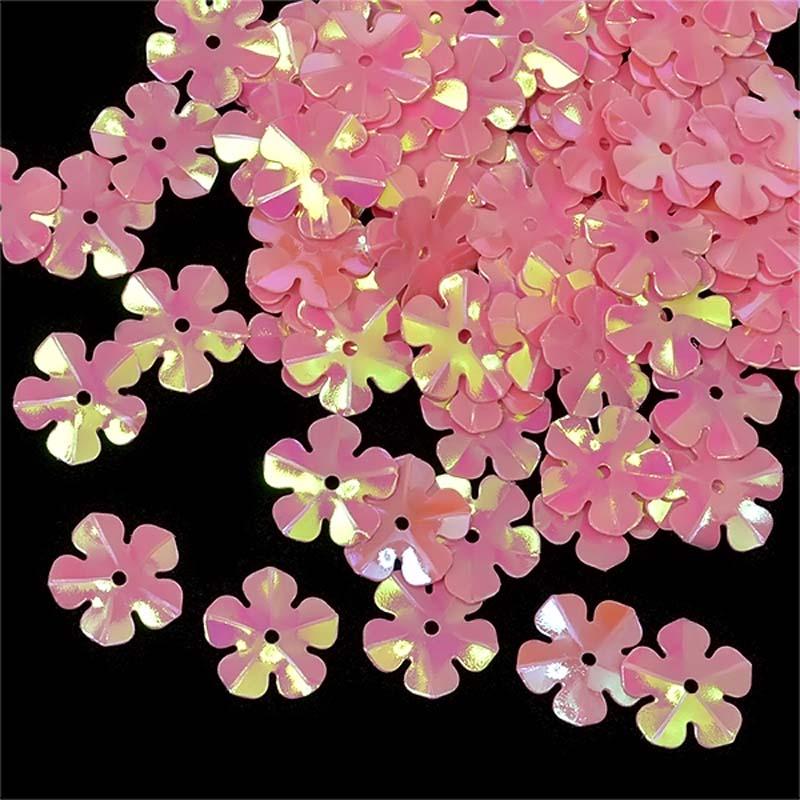 Пайетки Ideal, цвет: розовый (29), 14 мм, 50 г. ТВY.FLK465.029