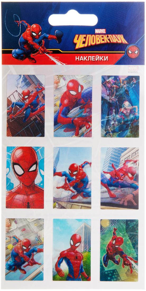Липляндия Набор наклеек Человек-Паук 3Д 1 липляндия набор наклеек тачки 1 ндклд 1